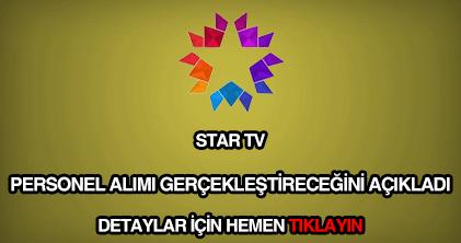 Star TV personel alımı