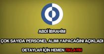 Abdi İbrahim personel alımı
