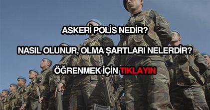 Askeri polis nedir?