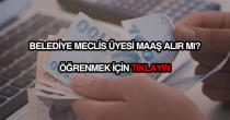 Belediye meclis üyesi maaşları