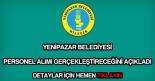 Yenipazar Belediyesi personel alımı