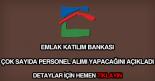 Emlak Katılım Bankası personel alımı