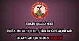 Laçin Belediyesi işçi alımı