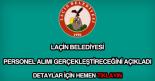 Laçin Belediyesi personel alımı