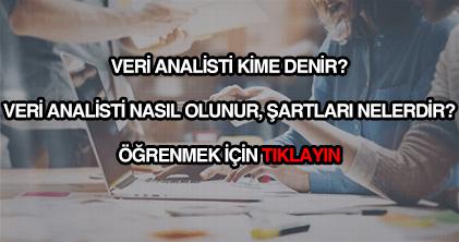 Veri analisti nasıl olunur?