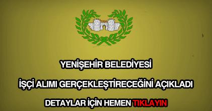 Diyarbakır Yenişehir Belediyesi işçi alımı