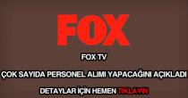 FOX TV personel alımı