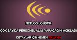 Netlog Lojistik personel alımı