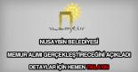Nusaybin Belediyesi memur alımı