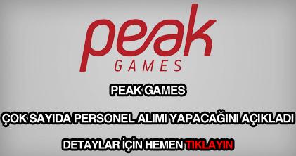 Peak games iş ilanları