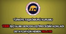 Türkiye Taşkömürü Kurumu işçi alımı