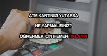 ATM kartımı yuttu ne yapmalıyım?