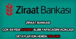 Ziraat Bankası avukat alımı
