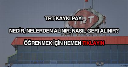 TRT katkı payı nedir?