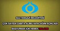 Sultangazi Belediyesi zabıta memuru alımı