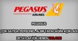 Pegasus personel alımı