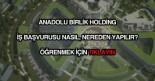 Anadolu Birlik Holding iş başvurusu
