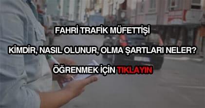 Fahri trafik müfettişi nasıl olunur?