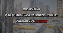 MNG Holding iş başvurusu