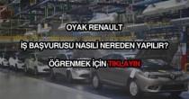 Oyak Renault iş başvurusu