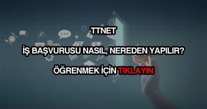 TTNET iş başvurusu